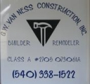 <h5>G.W. Van Ness Construction, Inc.</h5>
