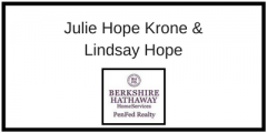 <h5>Julie Hope Krone & Lindsay Hope</h5>